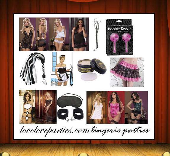 Lingerie Parties are Here!