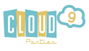 Cloud 9 Parties Logo Romance Parties